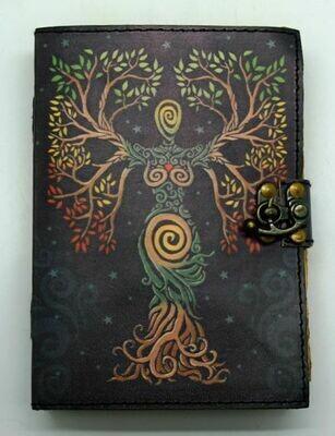 Tree of life Goddess Journal color