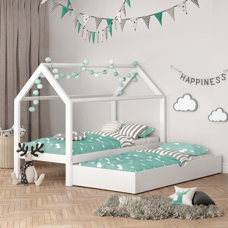 Cama Montessori 2 con cama nido