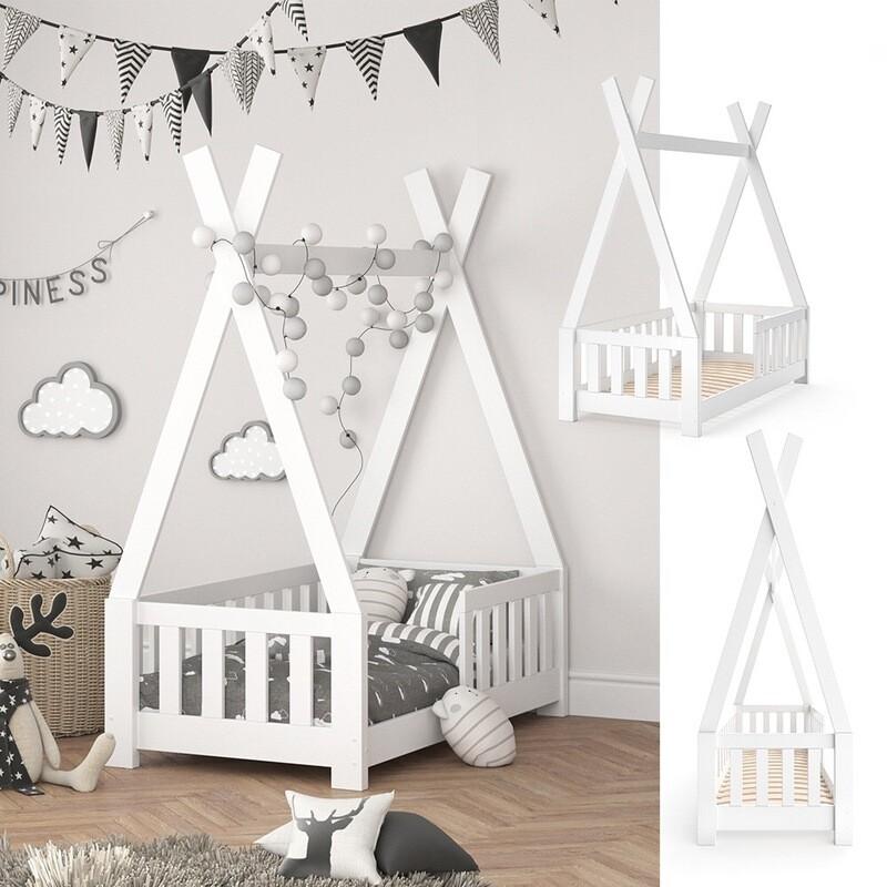 Cama Montessori tepee