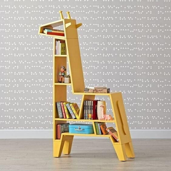 Biblioteca organizador Girafa