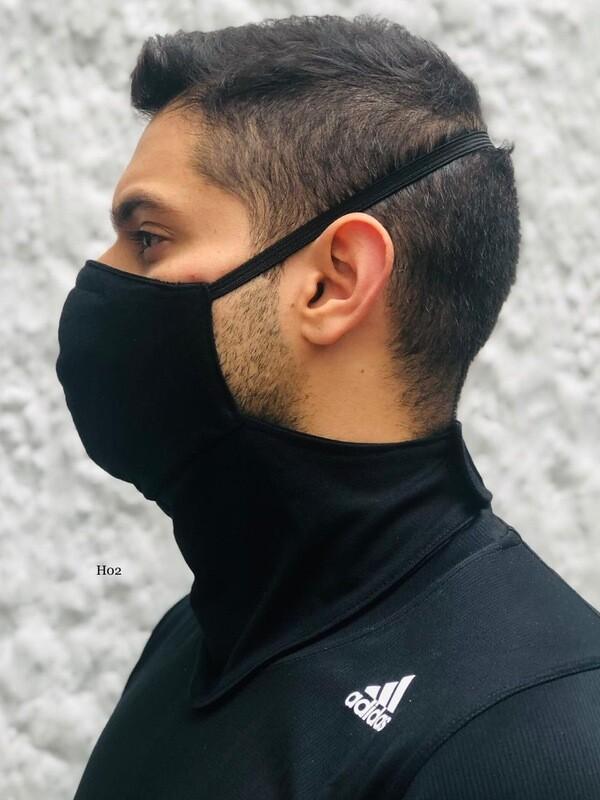 Tapabocas cuello para hombre