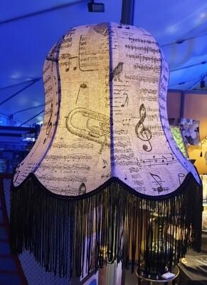 Abat-jour Clochette Musicale pour lampadaire