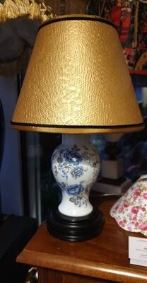 Lampe complète,  abat-jour conique