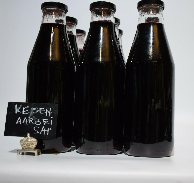 Kersen aardbei sap 750 ml