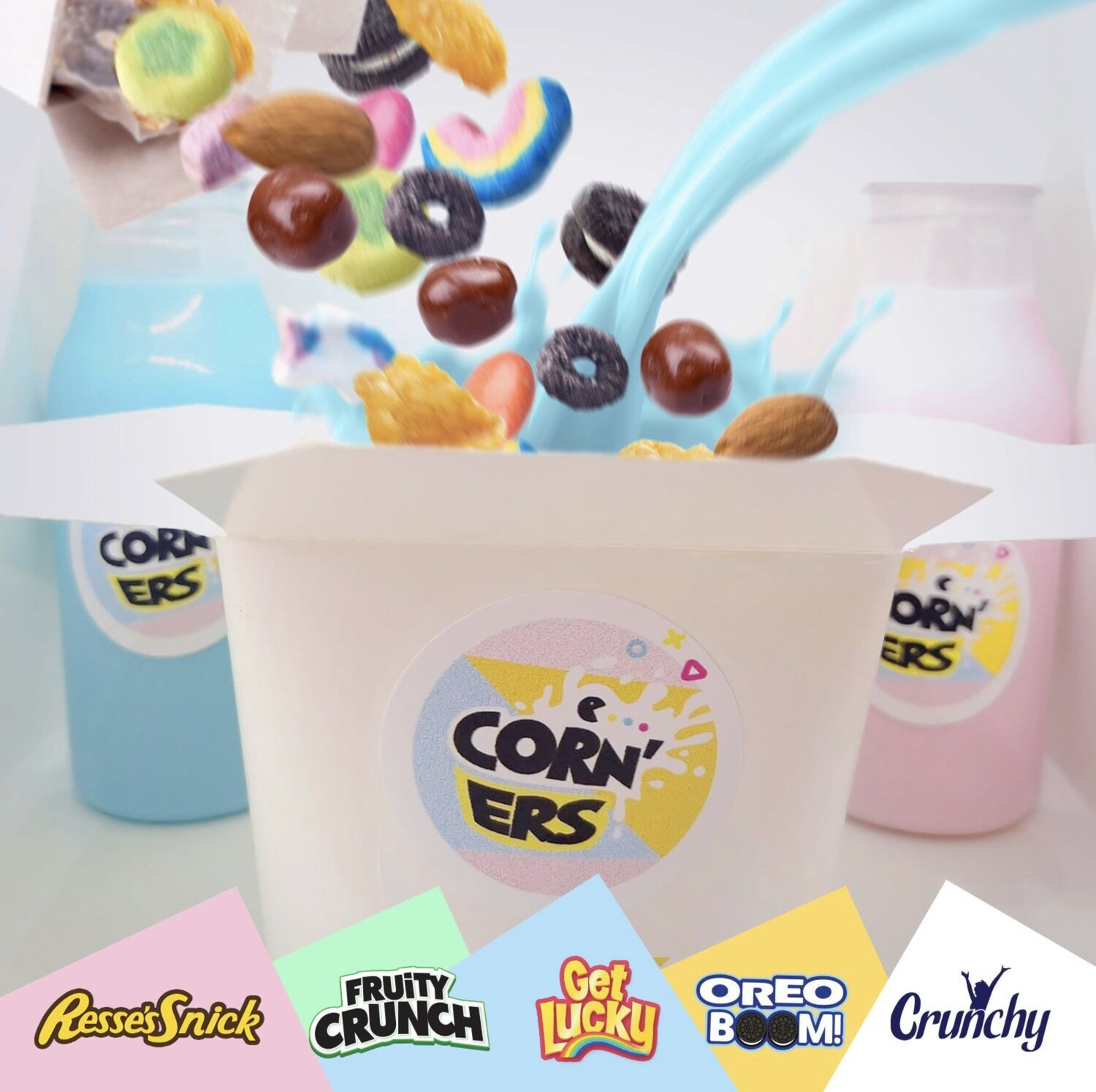 🌈💥BUILD YOUR CEREALS🥣BOWL