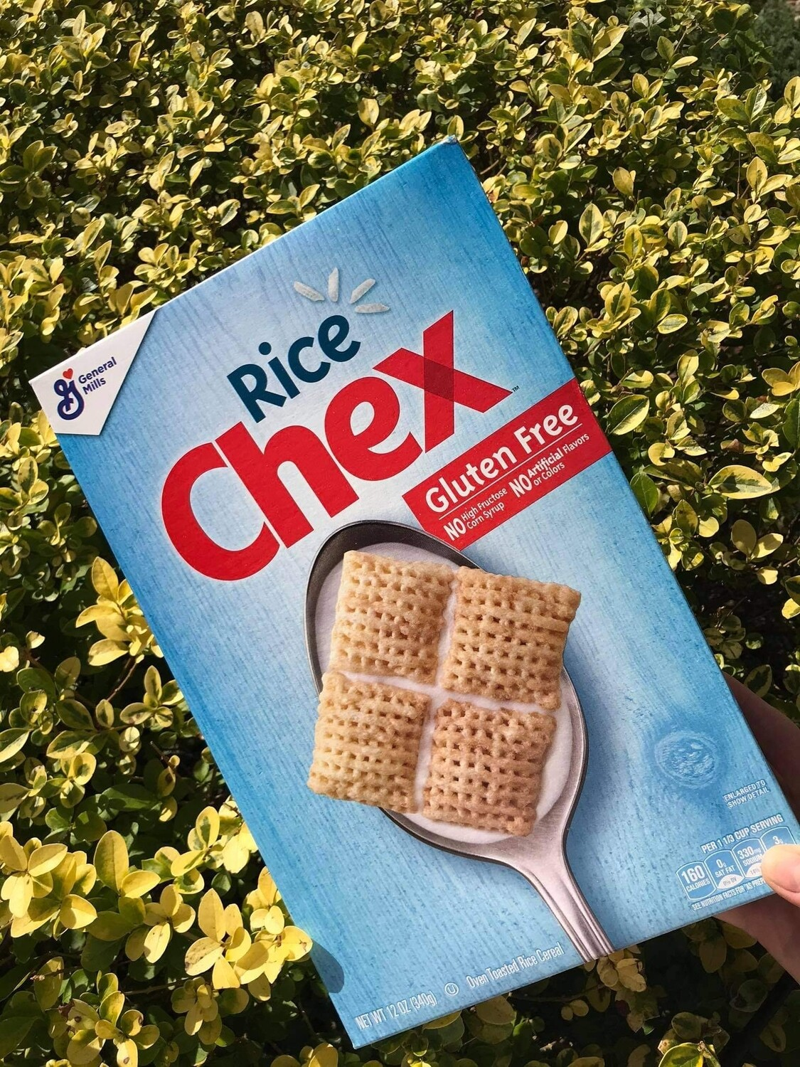 RICE CHEX - HEALTHY