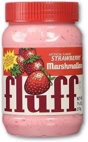 FLUFF MARSHMALLOWS STRAWBERRY