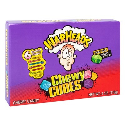 🍭WARHEADS CHEWY CUBES🍬