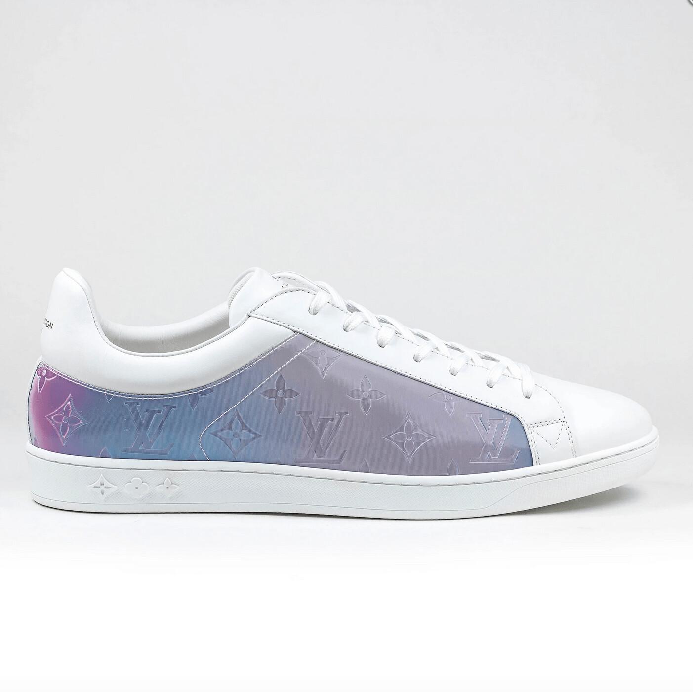 Louis Vuitton Monogram Prism White