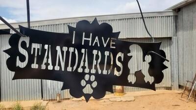 I have Standards Sign