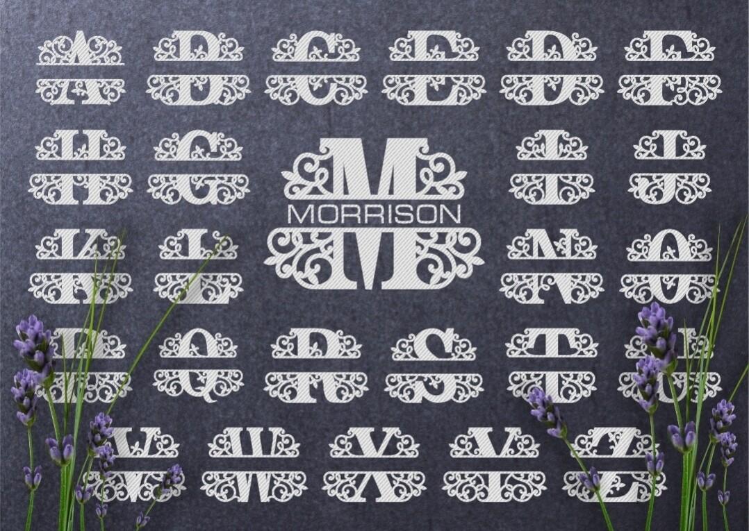 Monogram Letters (Fancy)