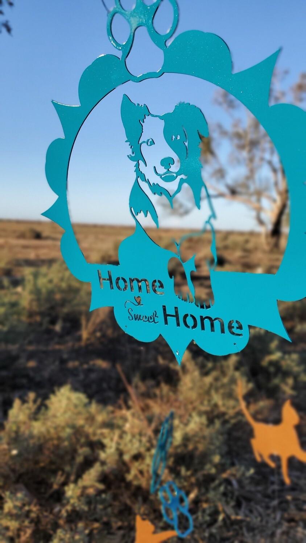 Home sweet home wind chime