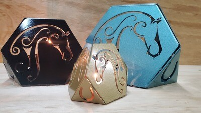 Horse-Tea Light Candle Holder