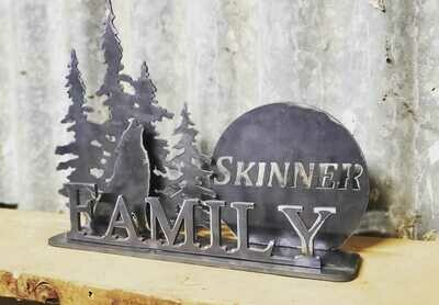Custom Family Mantel Piece