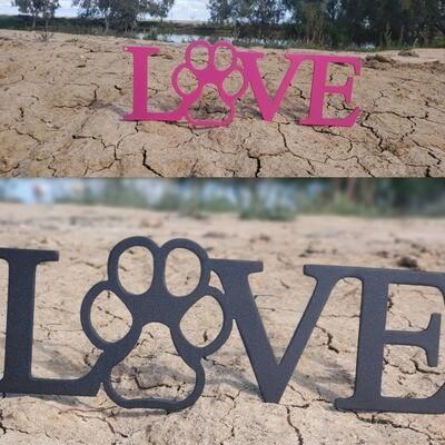LOVE W/Paw