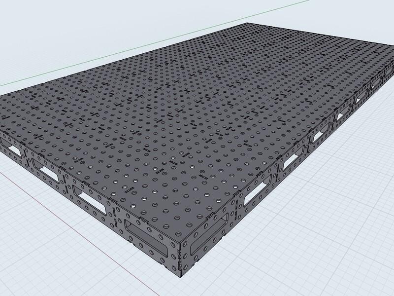 Welding Table (Flat Pack DIY)