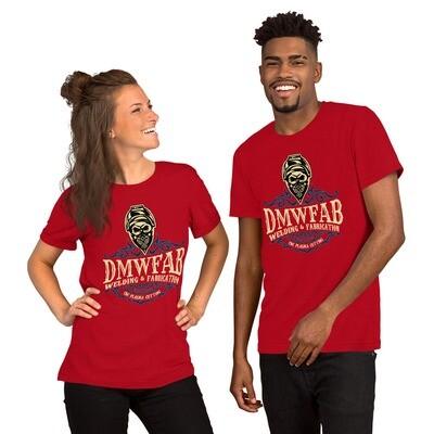 DMWFAB Short-Sleeve Unisex T-Shirt (blue logo)