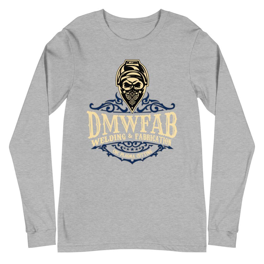 DMWFAB Blue Unisex Long Sleeve Tee (blue logo)