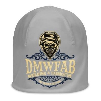 DMWFAB Beanie Blue Logo