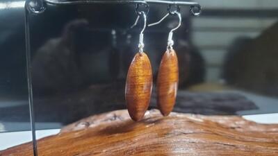 Oval Dome Earrings