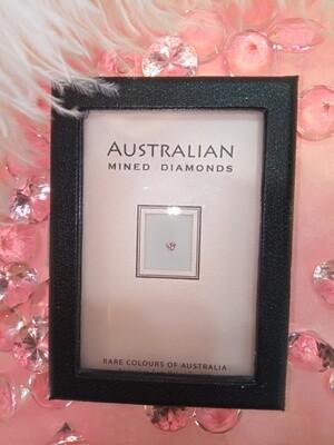 Argyle Pink Diamond Heart Shape