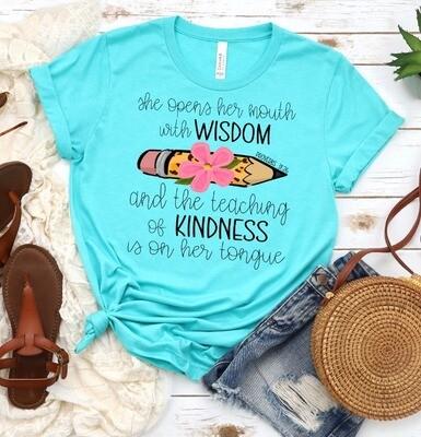 Wisdom & Kindness Tee