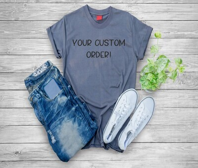 Custom Shirt Order