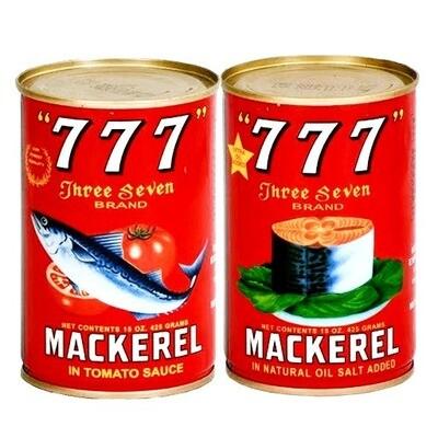 777 Tinned Fish, Tomato, 425g
