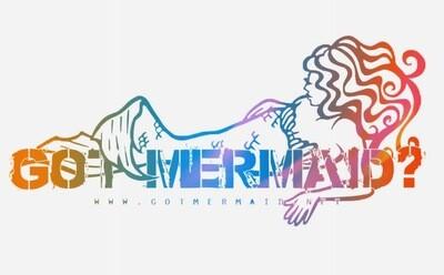 Aurora Arctic Mermaid Vinyl Sticker