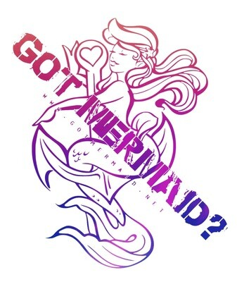 Anchor Mermaid Vinyl Sticker