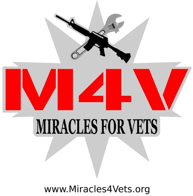 M4V logo Decal 6x6