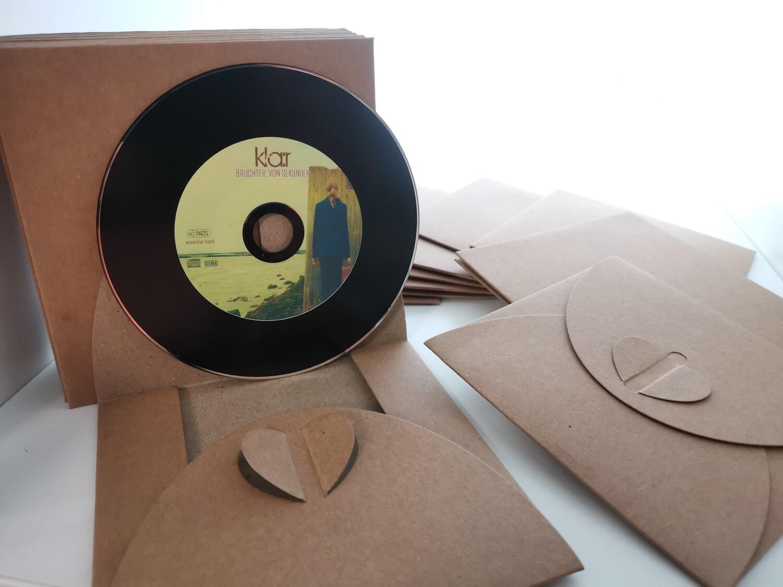 Limitierte VinylSingle-CD mit Widmung BRUCHTEIL VON SEKUNDEN