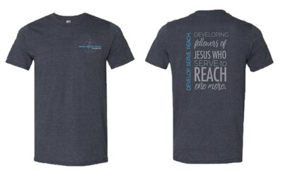 Short Sleeve Charcoal Heather T