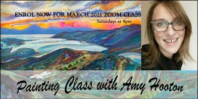 ART LESSON WITH AMY HOOTON - CLASS VOUCHER