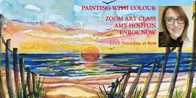 PAINTING WITH COLOUR - ART LESSONS WITH AMY