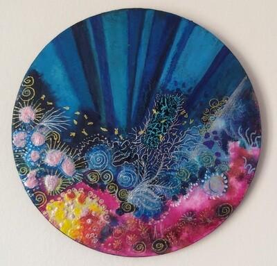 Pink Coral Round