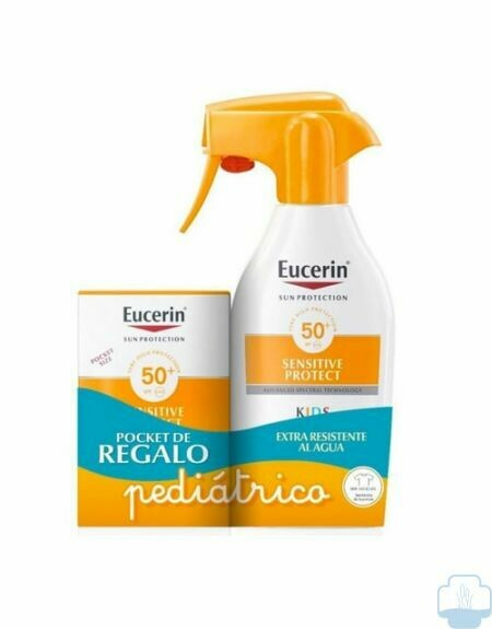Eucerin Sun Kids Spray SPF50+ 300ml+ Fluid SPF50+ 50ml Pack