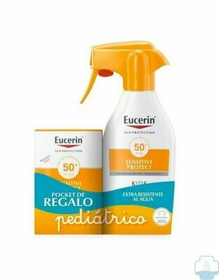 Eucerin Sun Kids Spray SPF50+ 300ml+ Fluid SPF50+ 50ml Pack