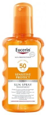 Eucerin Sensitive Protect spray transparente SPF 50+