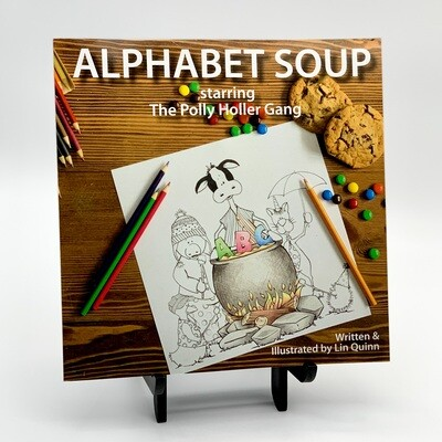 Alphabet Soup Activity Book