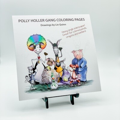 Polly Holler Gang Coloring Pages