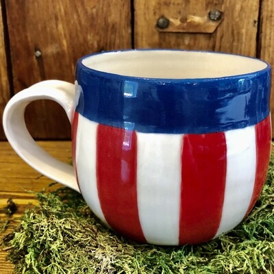 Mug - Red, White and Blue