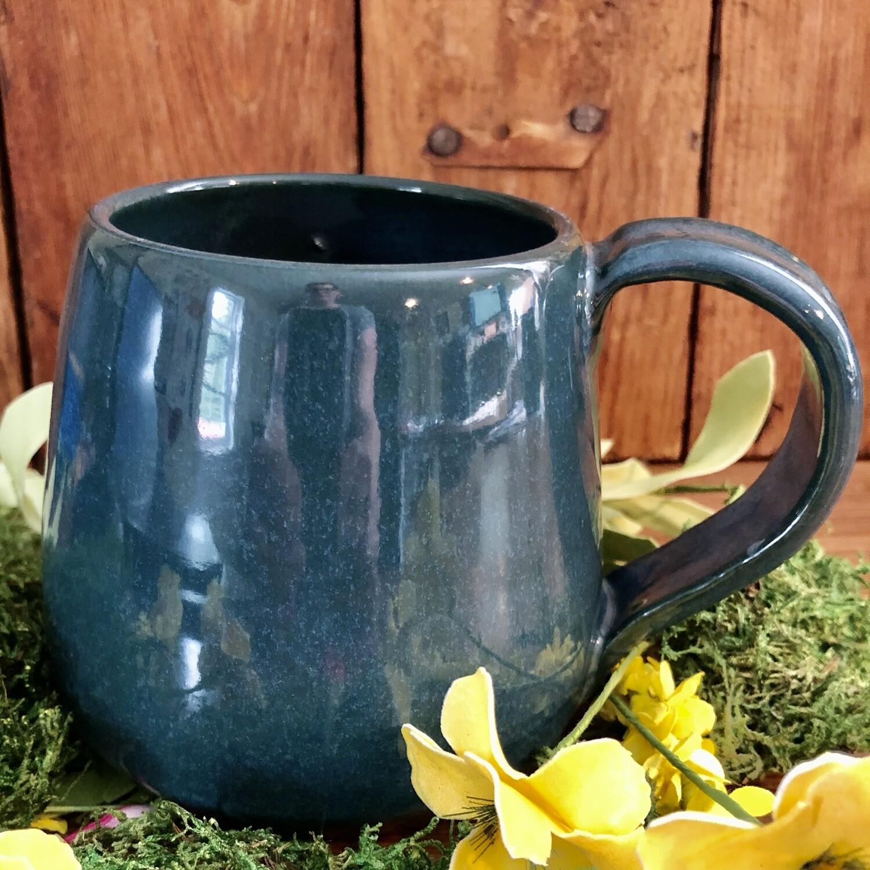Mug - Teal Full Handle