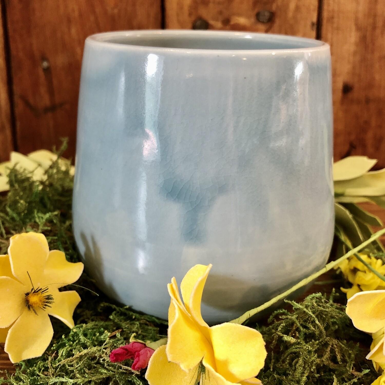 Mug - Blue No Handle