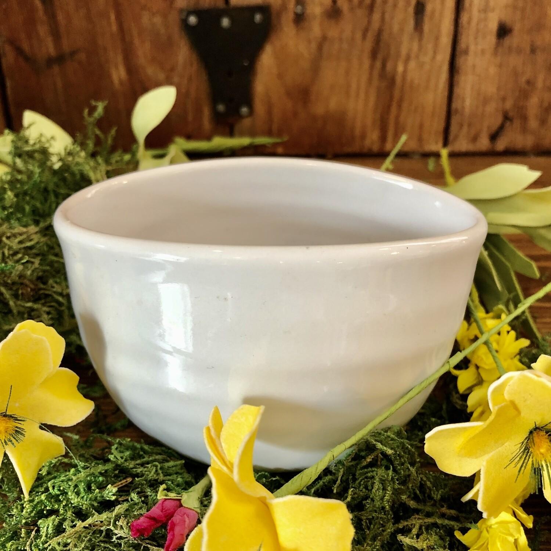 Bowl - Succulent White