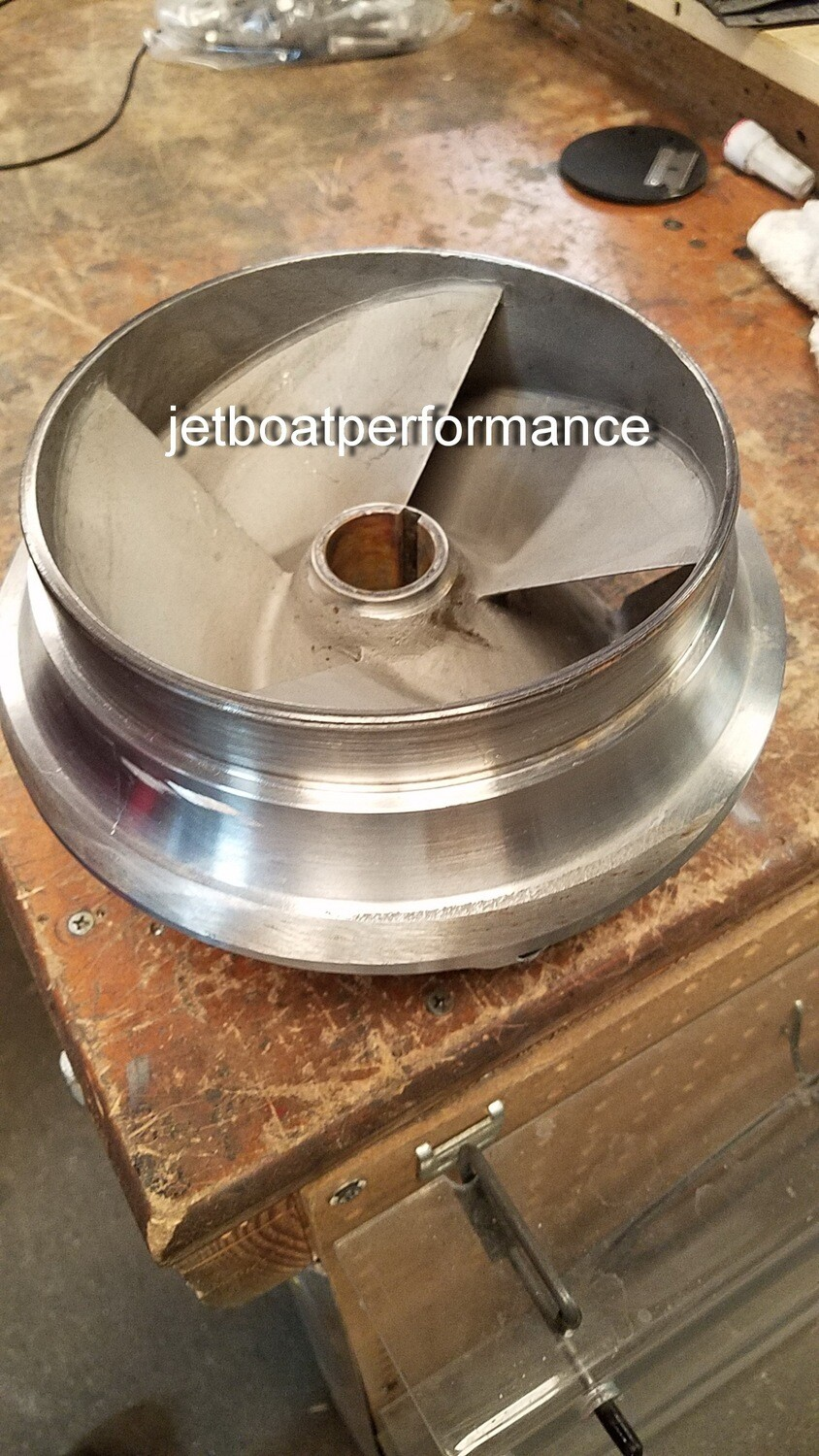 JBP XLS stainless Impellers