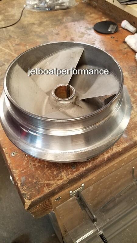 JBP XLS stainless Impellers