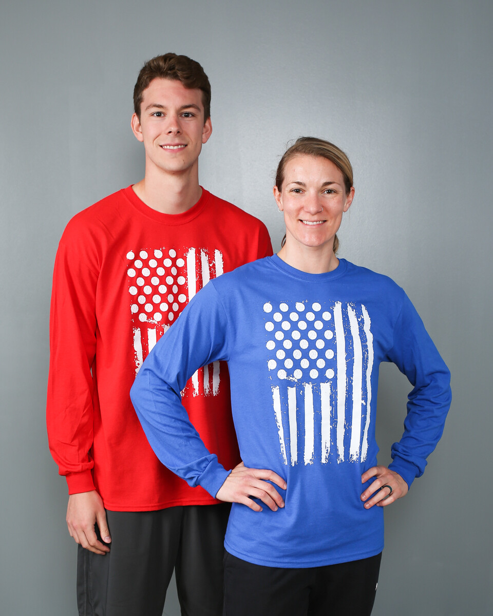 Volleyball Flag Long Sleeve