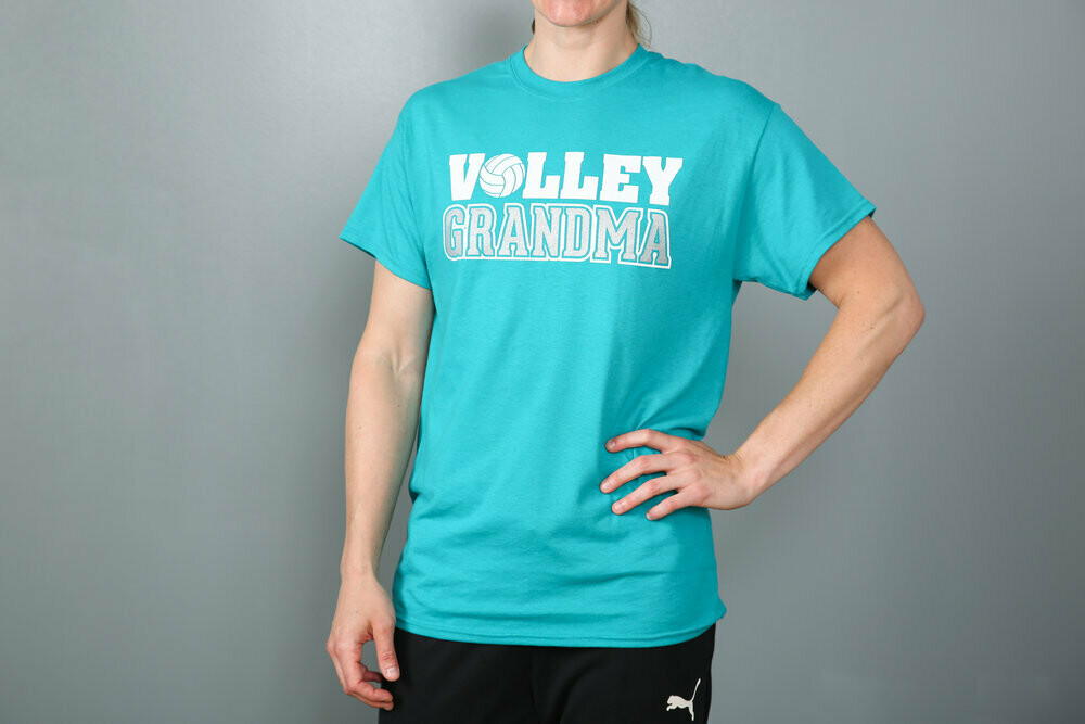 Volleyball Grandma