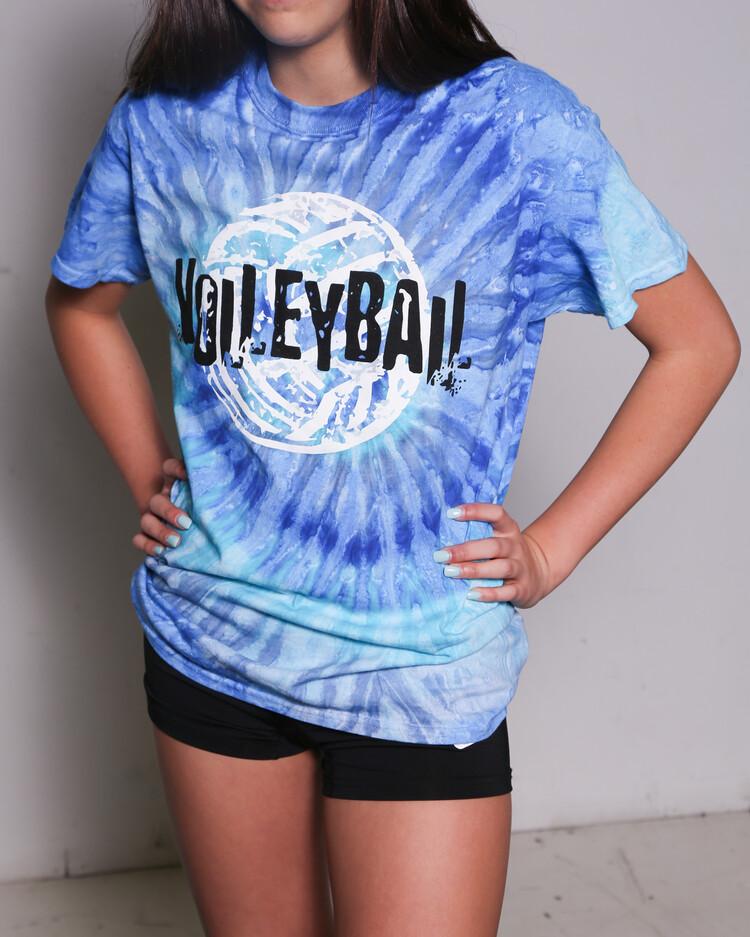 Volleyball Tie Dye Shirt